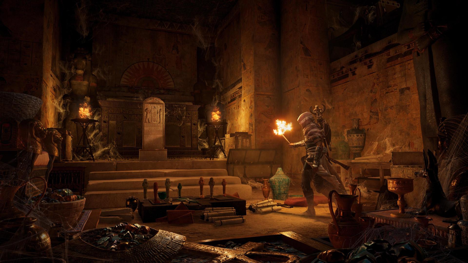 Представлены первые 15 минут геймплея Assassin's Creed: Origins — The Curse of the Pharaohs