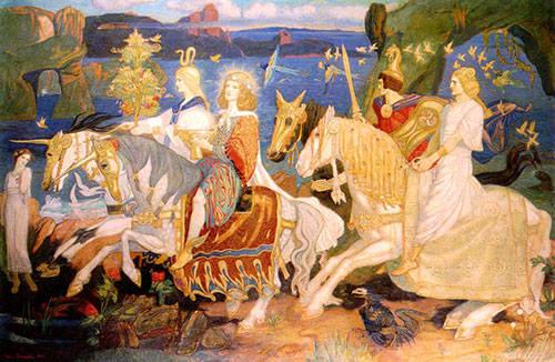 День Весеннего Равноденствия Остара (Ostara) 21 марта - Праздник Колеса Года.  21021063_m