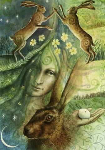 День Весеннего Равноденствия Остара (Ostara) 21 марта - Праздник Колеса Года.  21023001_m
