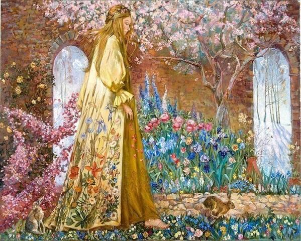 День Весеннего Равноденствия Остара (Ostara) 21 марта - Праздник Колеса Года.  21023084_m