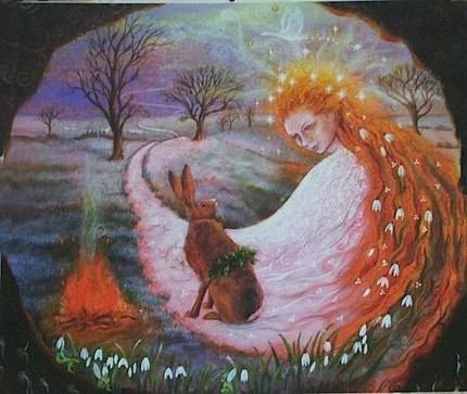 День Весеннего Равноденствия Остара (Ostara) 21 марта - Праздник Колеса Года.  21023338_m