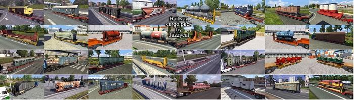 Railway Cargo Pack v1.8.4 [ATS]