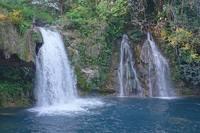 Водопады, впадающее в озеро в окрестностях Паленке. Фото Морошкина В.В.