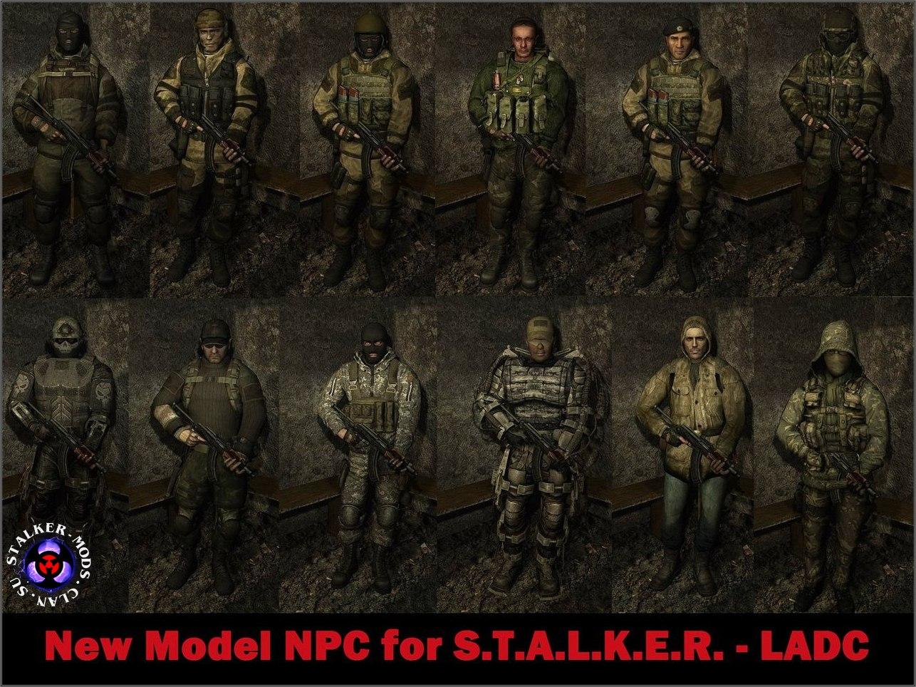New Model NPC for S.T.A.L.K.E.R.
