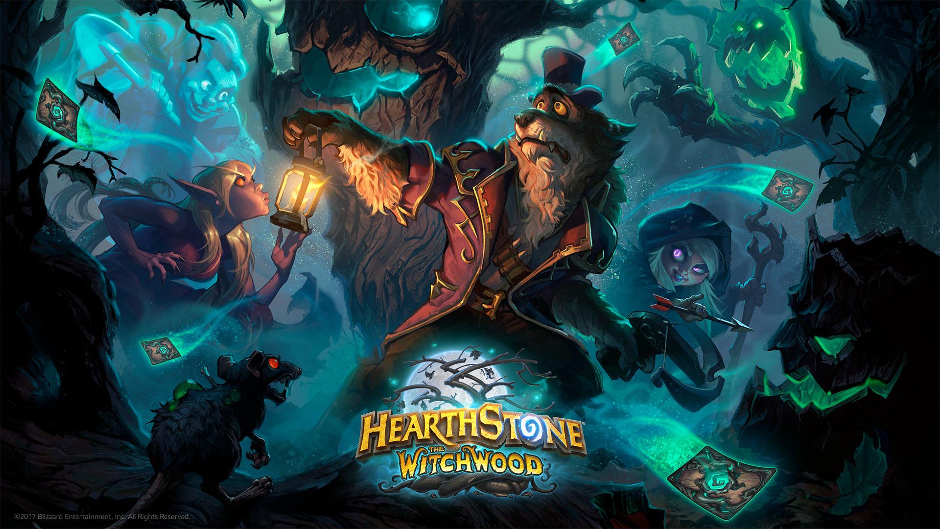 Объявлена дата выхода Hearthstone: Witchwood