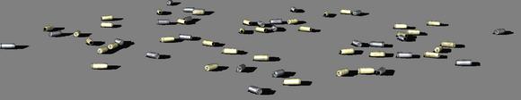 пистолетные и автоматные гильзы
