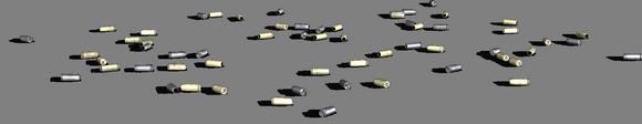 гильзы от пистолетов