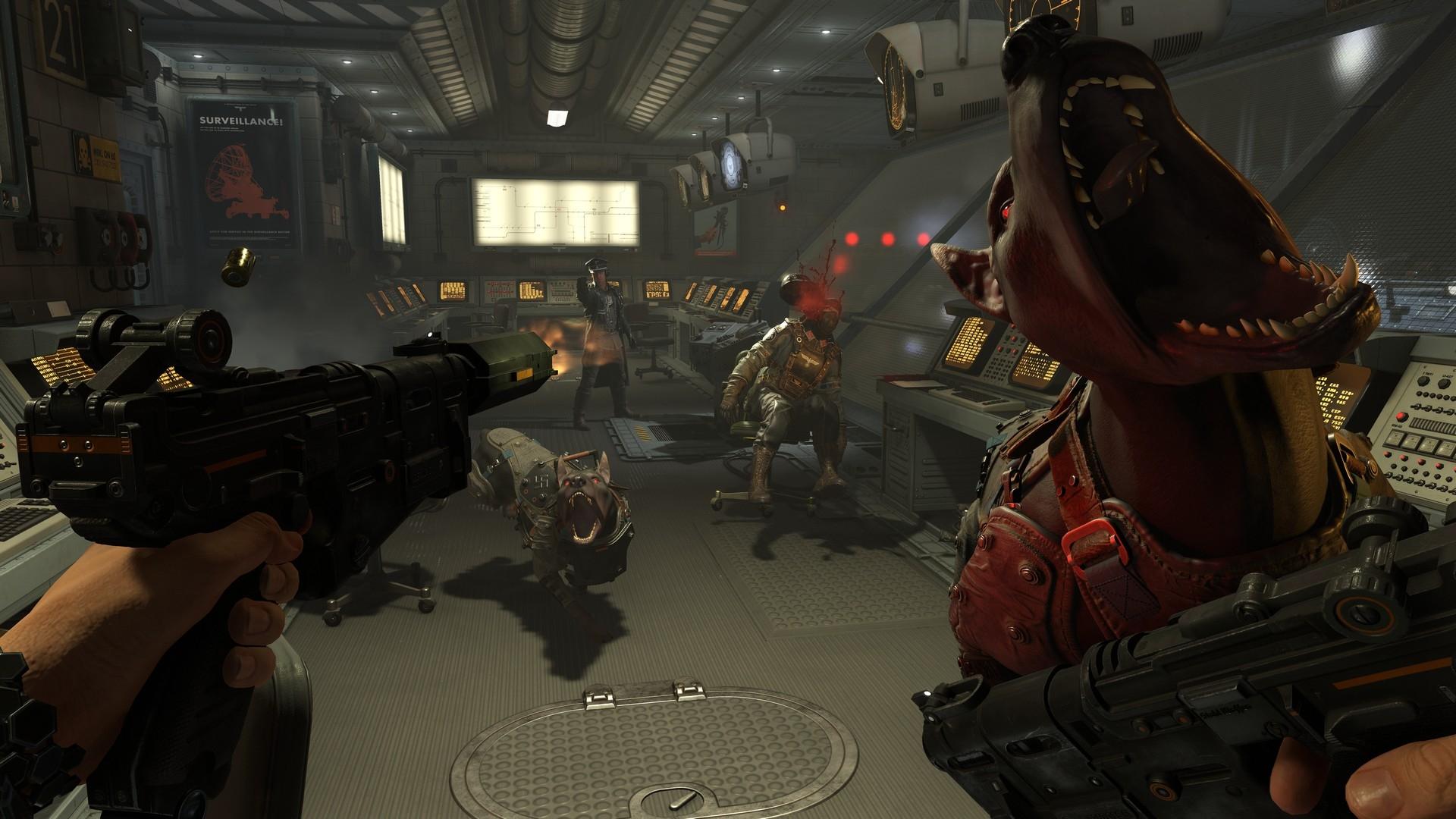 Фанат воссоздал локацию из Wolfenstein 2: The New Colossus на Unreal Engine 4