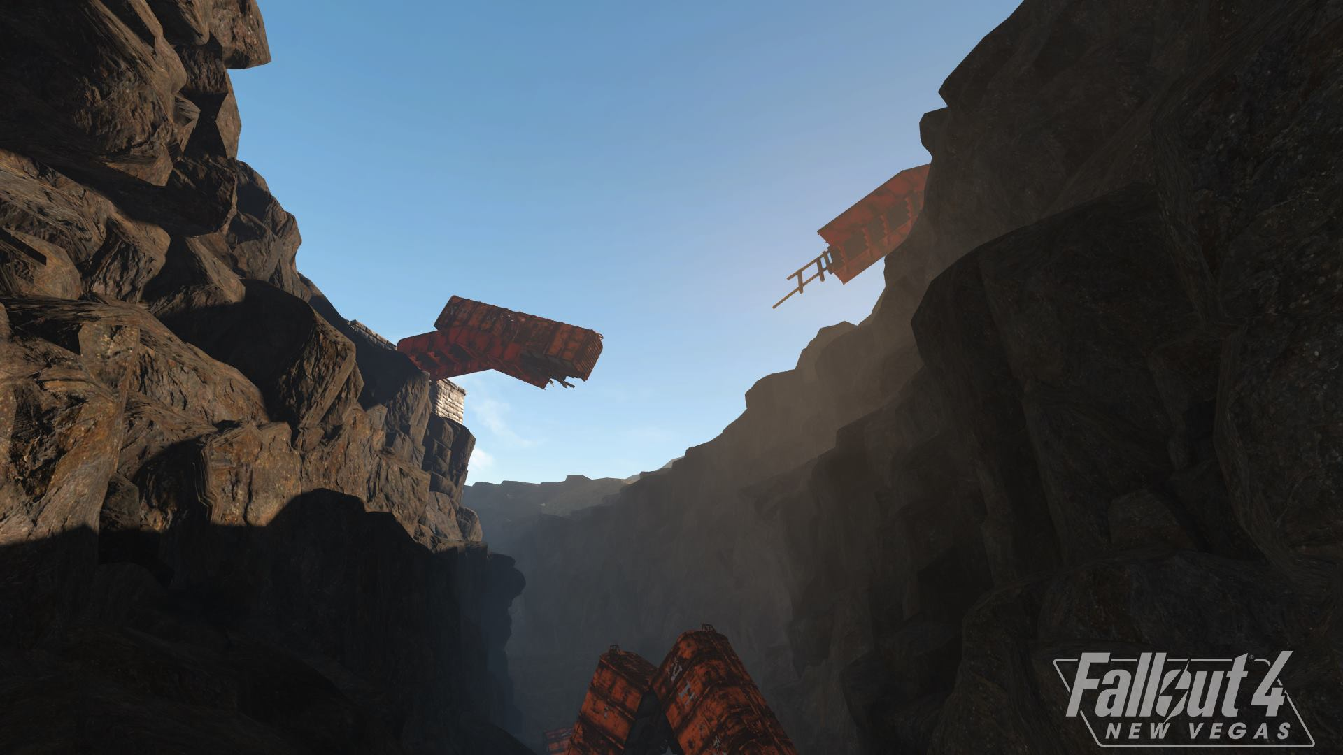 На новых скриншотах Fallout 4 New Vegas показали «Каньон Кресент»