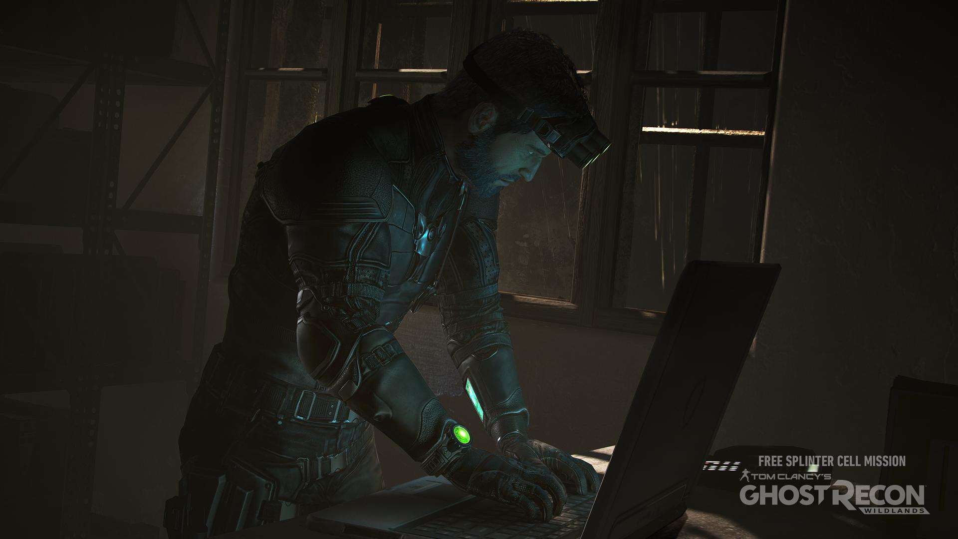 В миссии, посвящённой Splinter Cell, в Ghost Recon: Wildlands нашли пасхалку Metal Gear