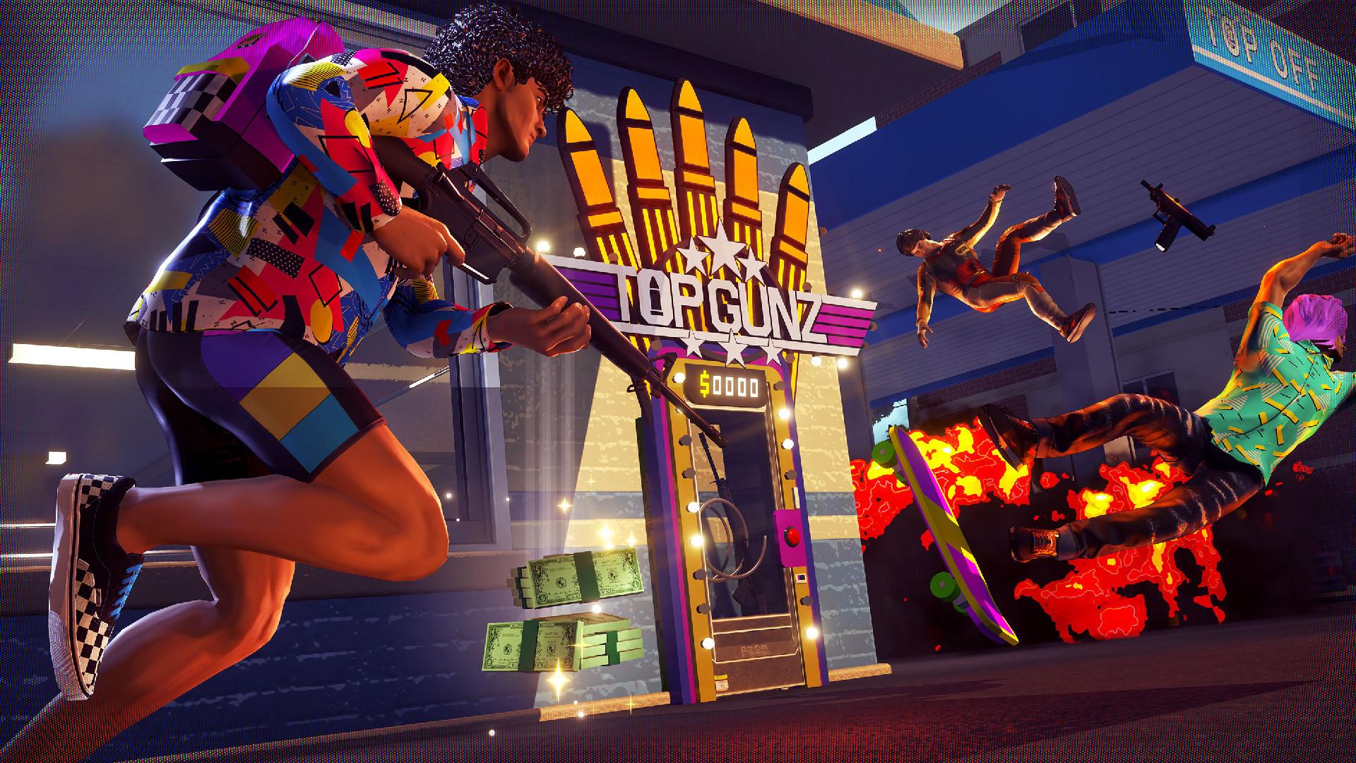 Новая бесплатная игра в жанре Battle Royale от создателей LawBreakers доступна в Steam
