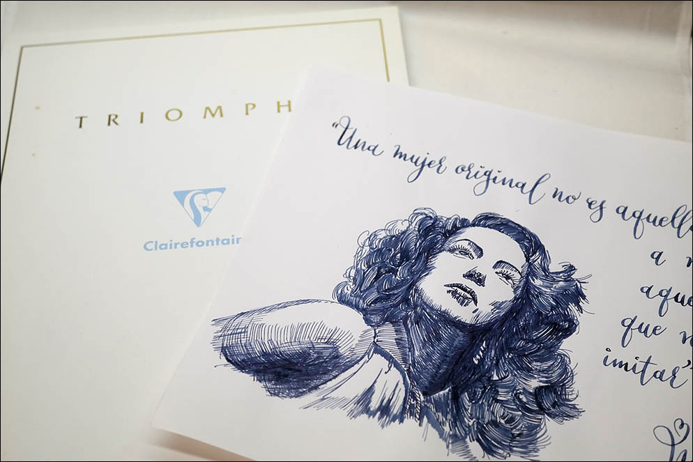 Clairefontaine Triomphe. Lenskiy.org