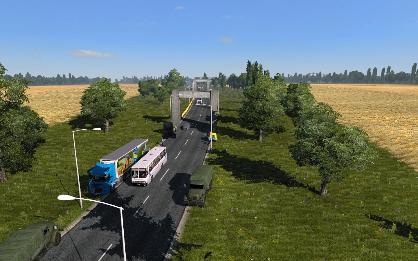 Eastern Express: road reduction v1