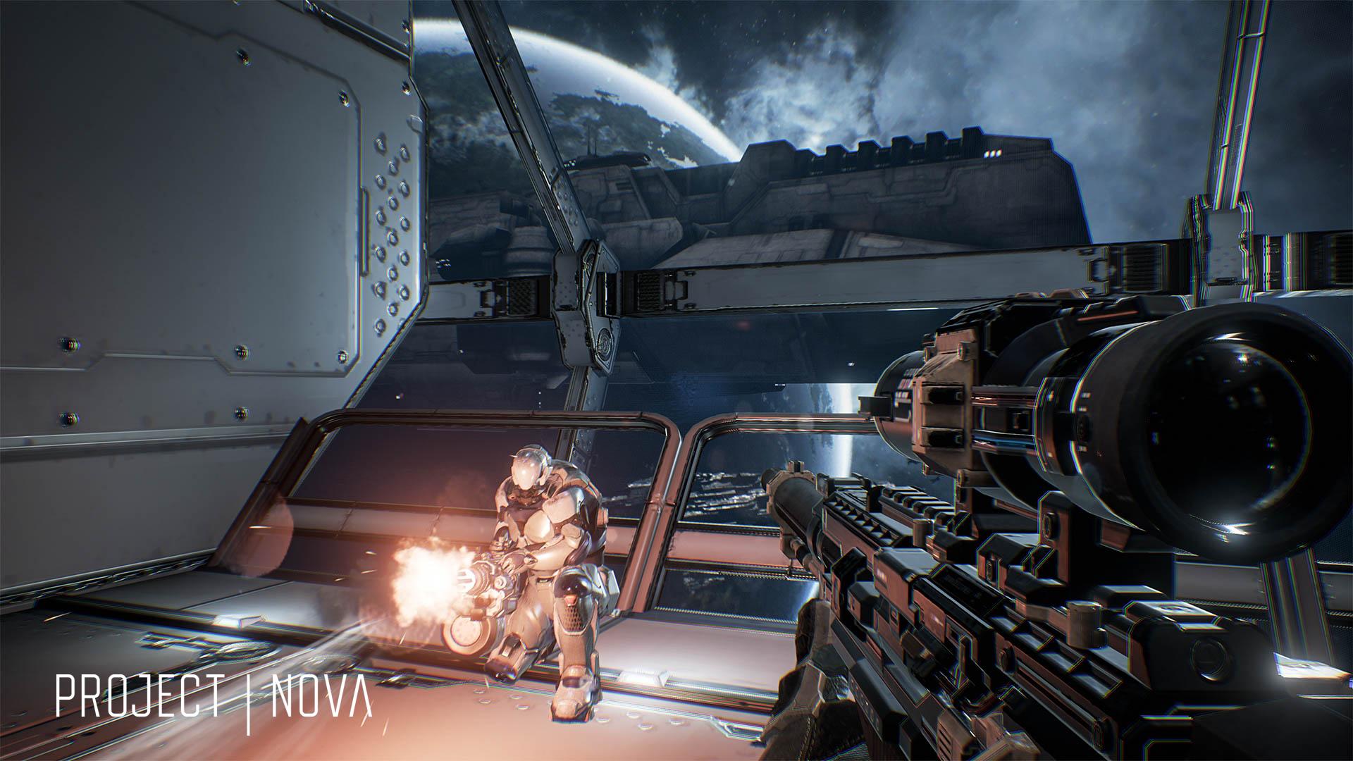 Шутер Project Nova во вселенной EVE Online выйдет в ближайшие месяцы