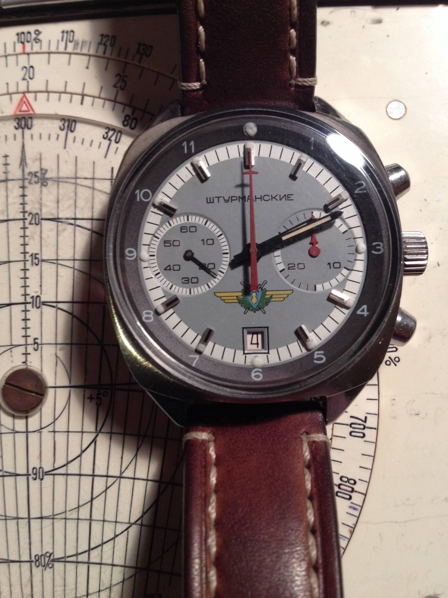 Часы не заводились, износилась кулачковая и заводная муфта, детали заменены.