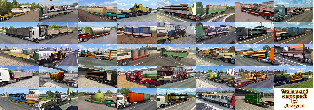 Trailers and Cargo Pack by Jazzycat v6.8