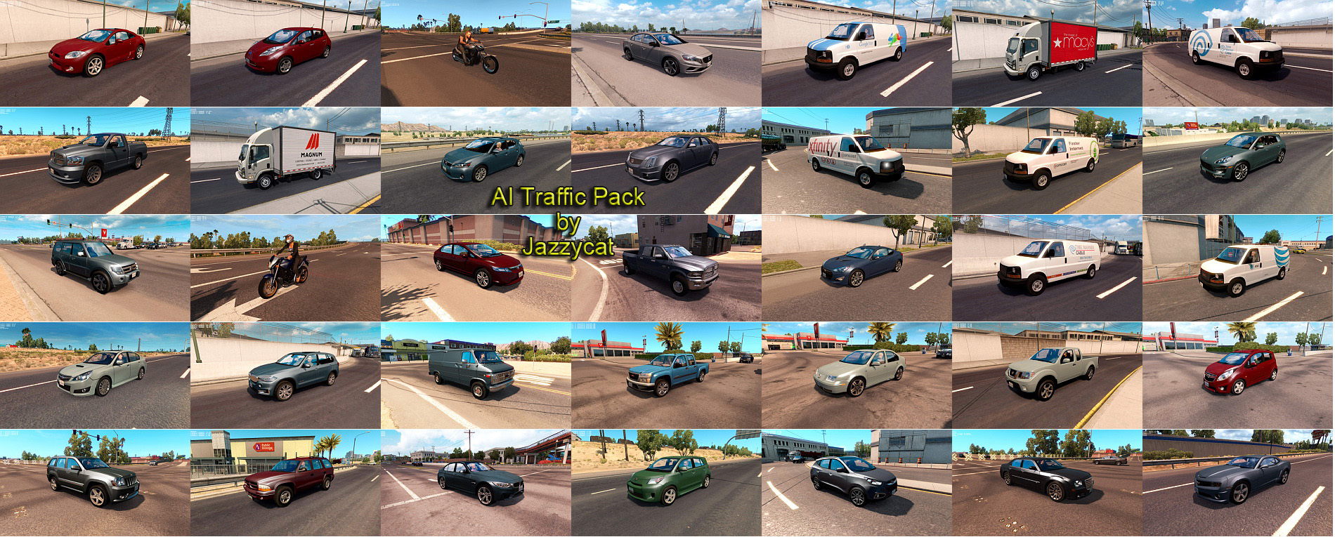 AI Traffic Pack v5.7