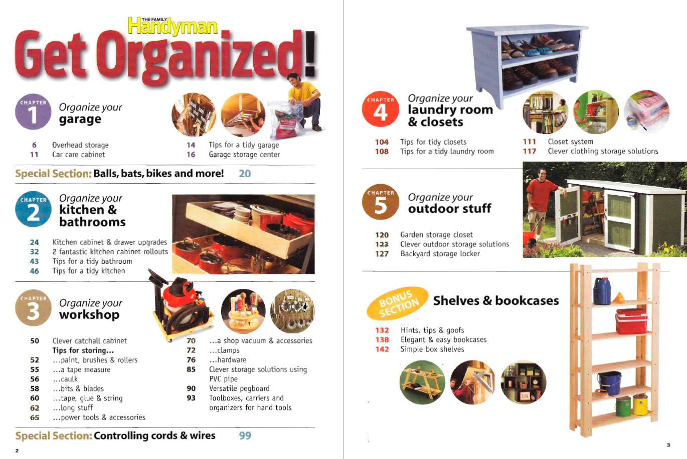 Get organized! 155 DIY Projects / The Family Handyman Special Issue