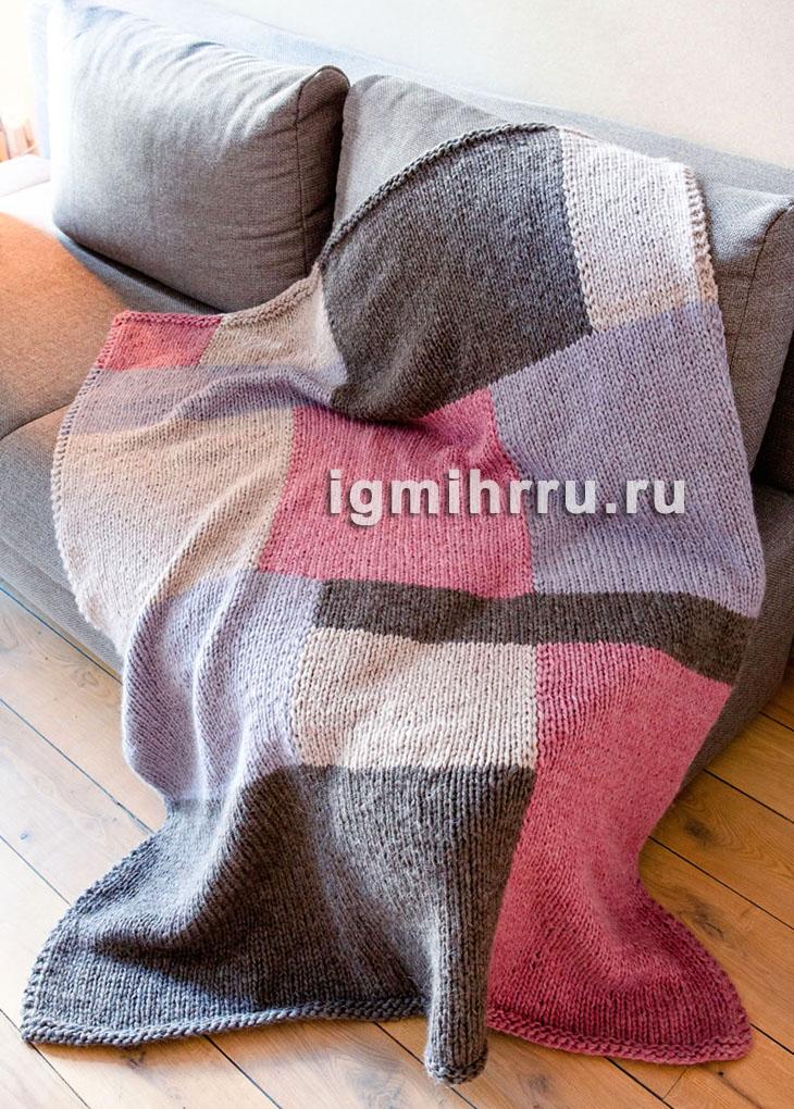 вязаное покрывало спицами самое интересное в блогах