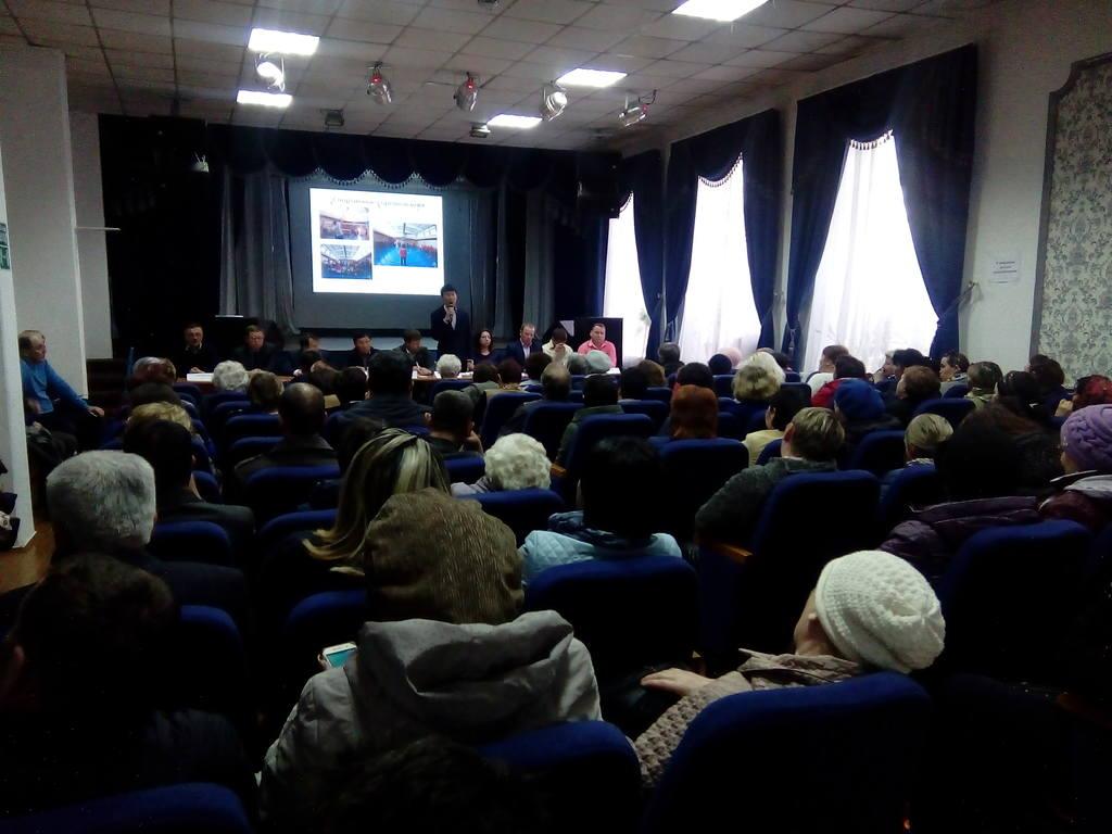 Прошел отчет депутата Улан-Удэнского городского Совета депутатов Шагжитарова В.П. для жителей микрорайона Стеклозавод