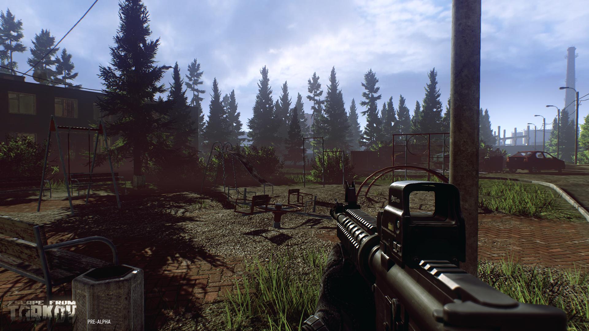 В Escape from Tarkov добавлена новая карта и огромное количество предметов