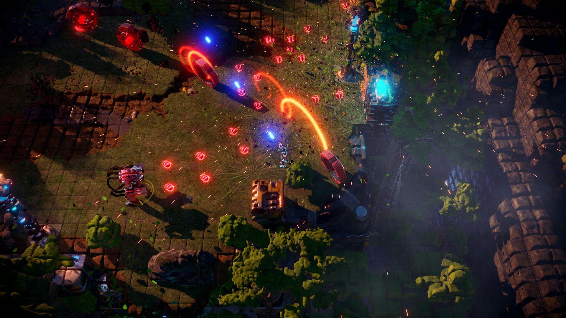 Разработчики Nex Machina анонсировали мультиплеерный экшен Stormdivers