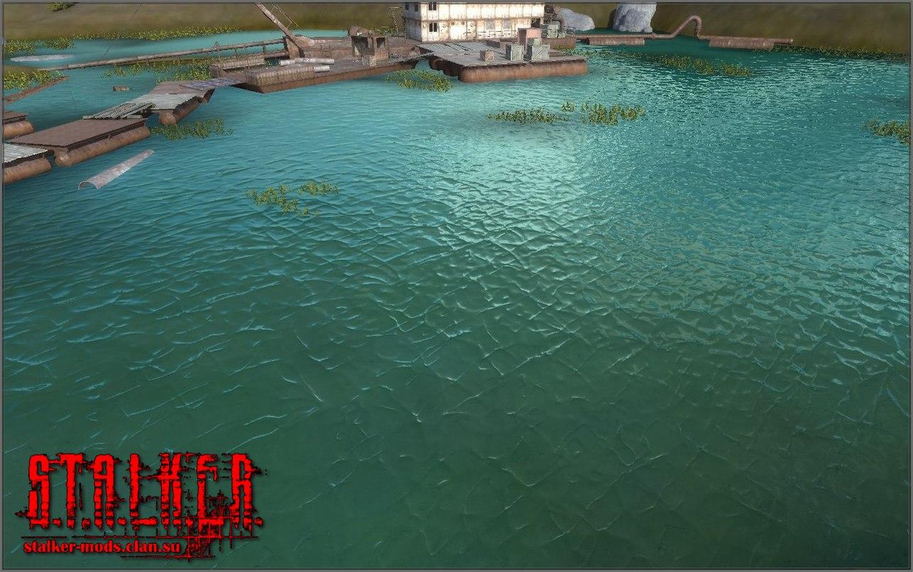 новая текстура воды для сталкера