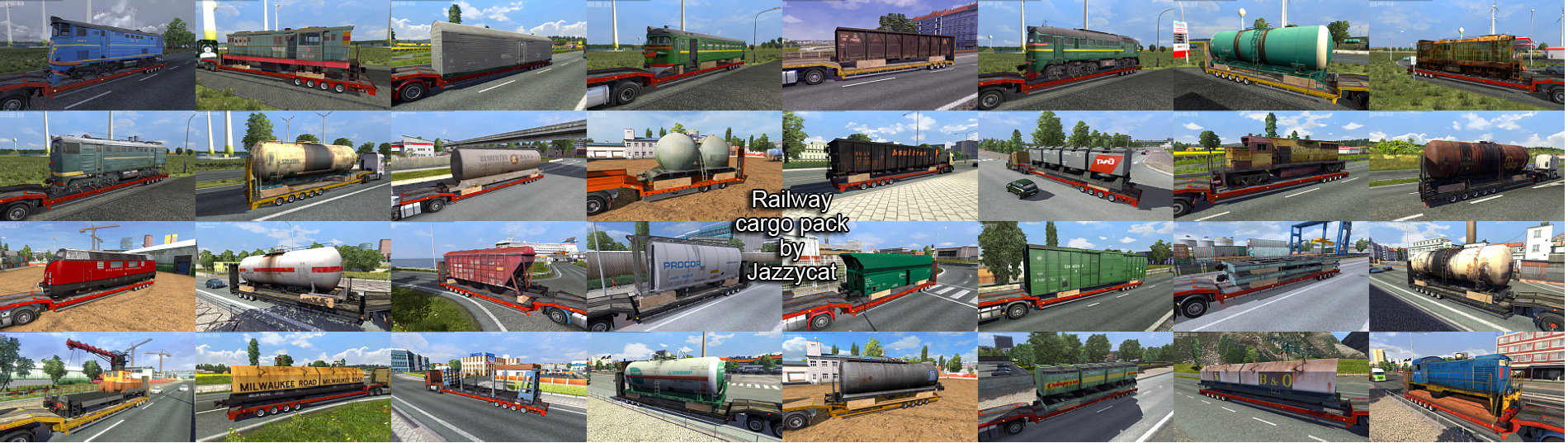 Railway Cargo Pack v1.8.5