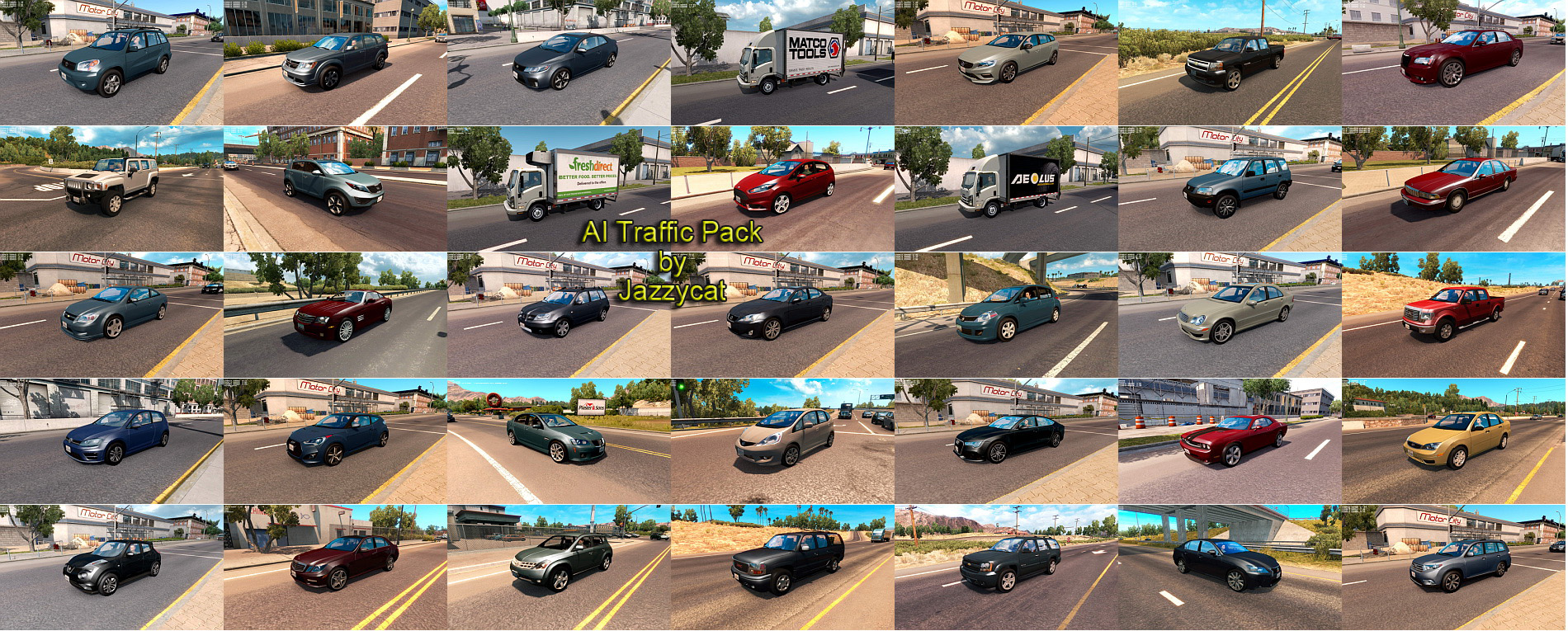 AI Traffic Pack v4.2 by Jazzycat
