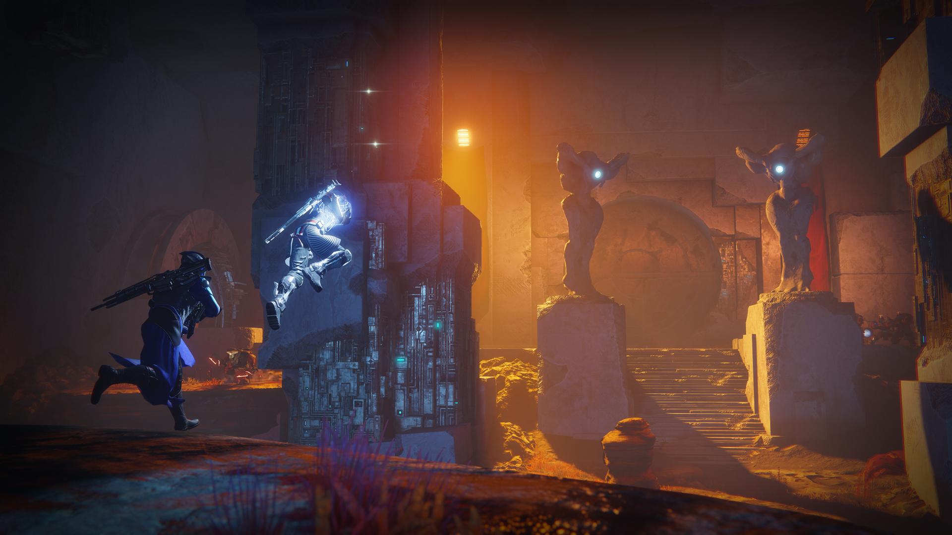 Прохождение одной из миссий дополнения Warmind для Destiny 2