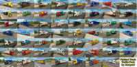 Painted Truck Traffic Pack v5.7