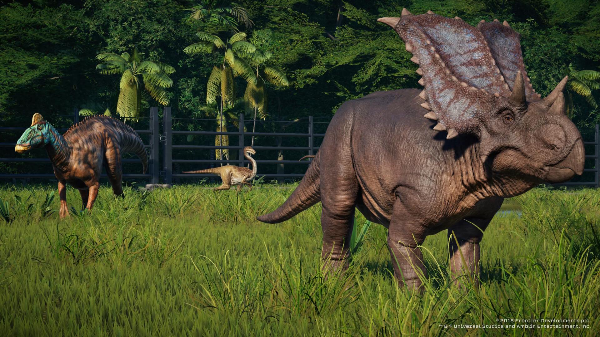 Появилось 20 минут геймплея Jurassic World Evolution