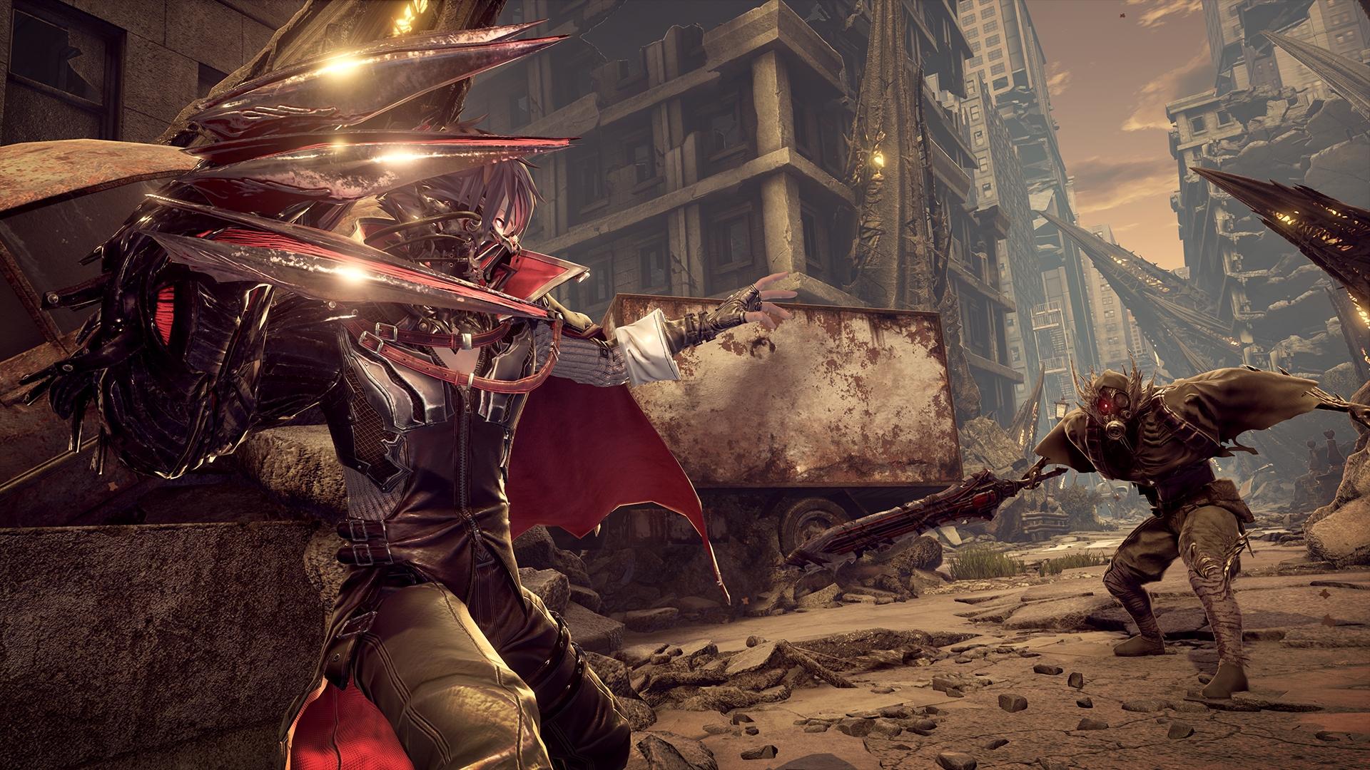 Ролевой экшен Code Vein, вдохновленный Dark Souls, выйдет в июле