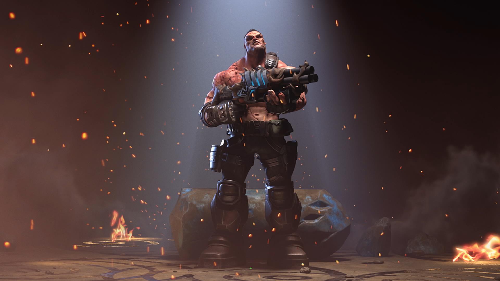 Шутер Hellbound в стиле Doom и Quake доступен бесплатно в Steam Early Access