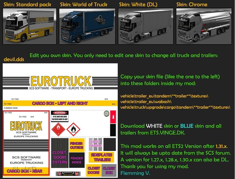 BDF Tandem Truck Pack v90.0