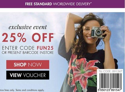 Mandco.com (M&Co) промокод. Скидка 25% на все товары за полную цену + бесплатная доставка по всему миру