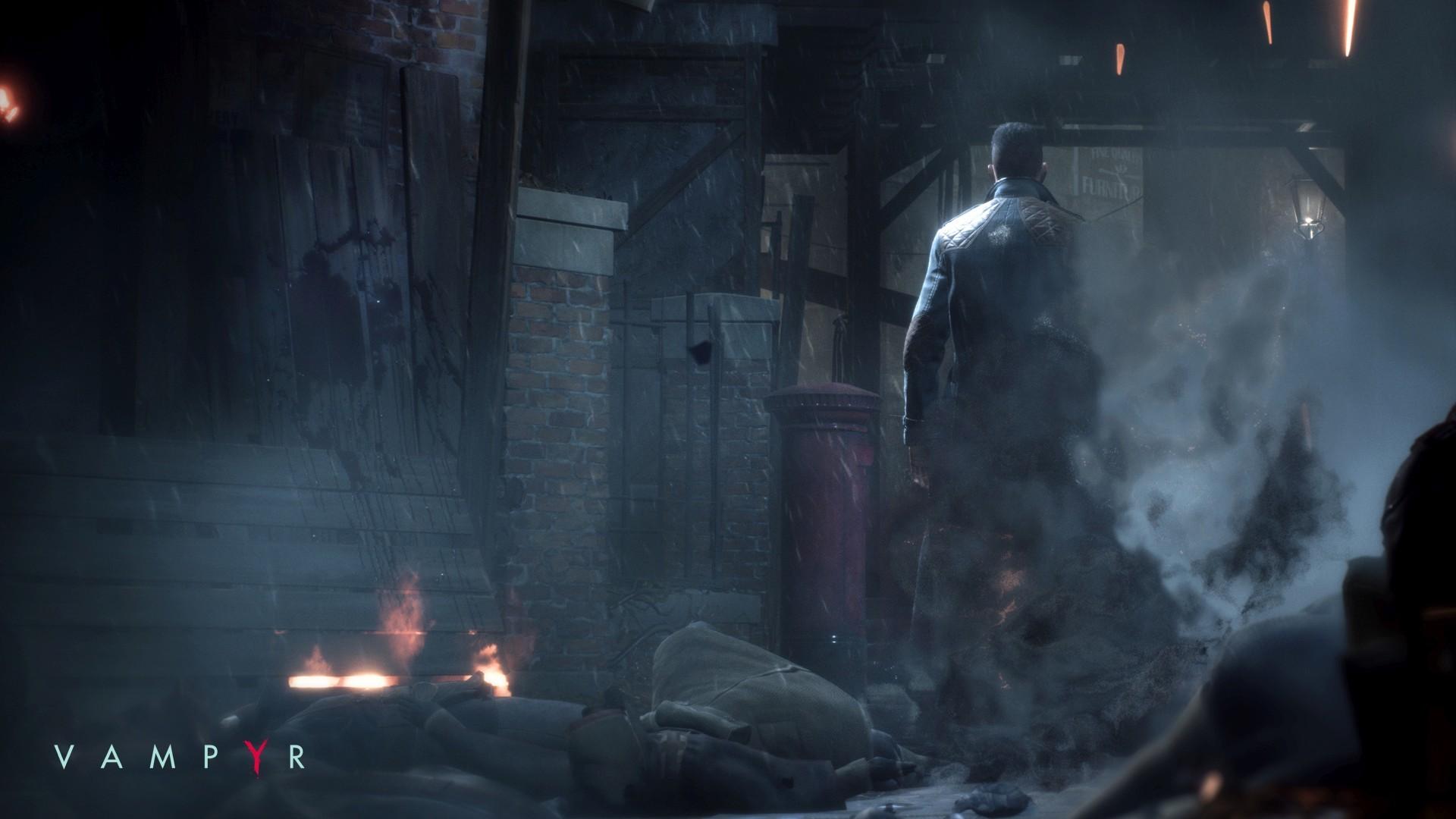 Появился 50 минутный геймплей «ушедшего на золото» RPG-экшена Vampyr