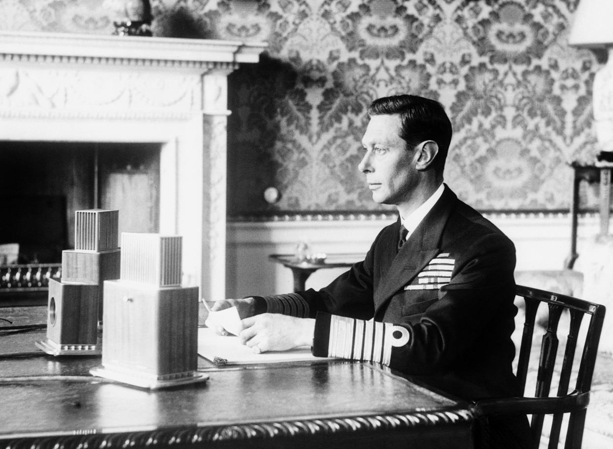 Георг VI: Король заговорил
