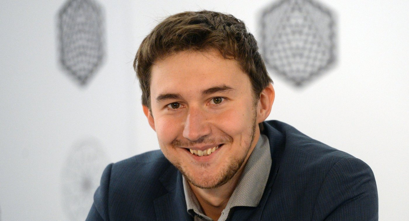 СЕРГЕЙ КАРЯКИН, известный российский шахматист, чемпион мира по быстрым шахматам