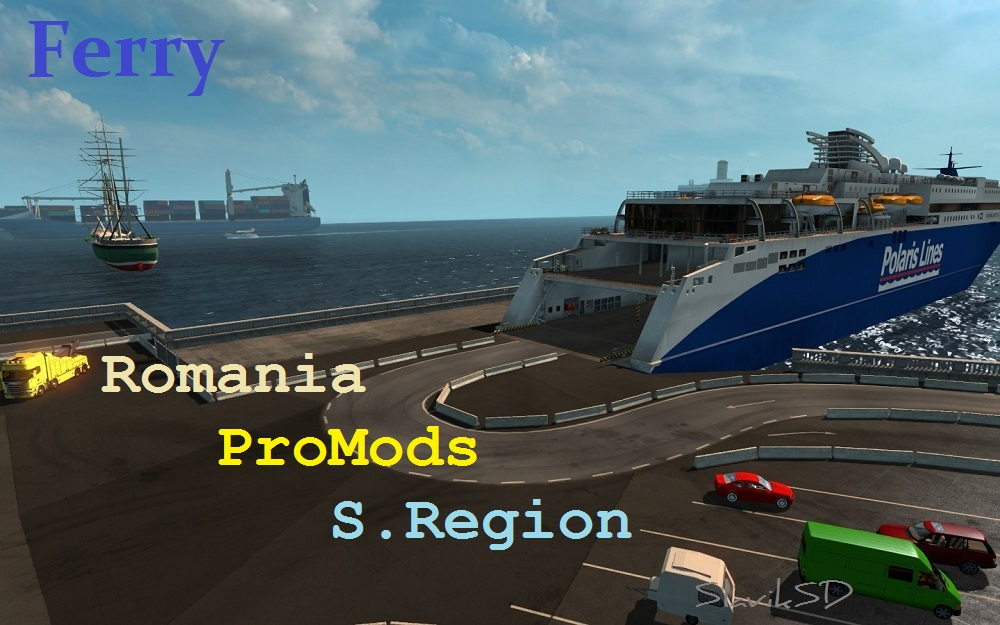Ferry S.Region-Romania-ProMods v2.0