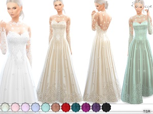 Формальная одежда, свадебные наряды - Страница 17 21888442