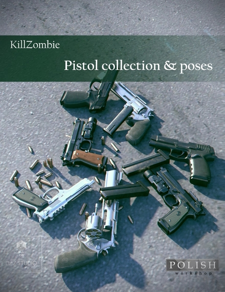 KillZombie Pistols Collection
