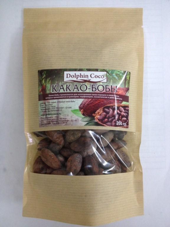 какао-бобы (Кот-д'Ивуар), 200 гр