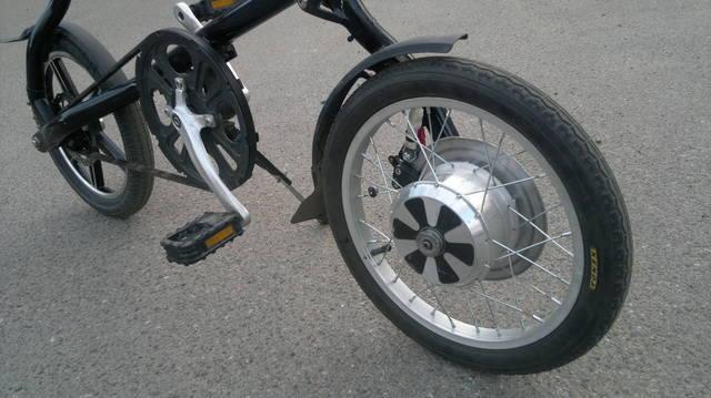Консольное мотор-колесо для ЭлектроСтриды