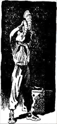 Рисунок С. Забалуева к повести С. Голицына За берёзовыми книгами (23)