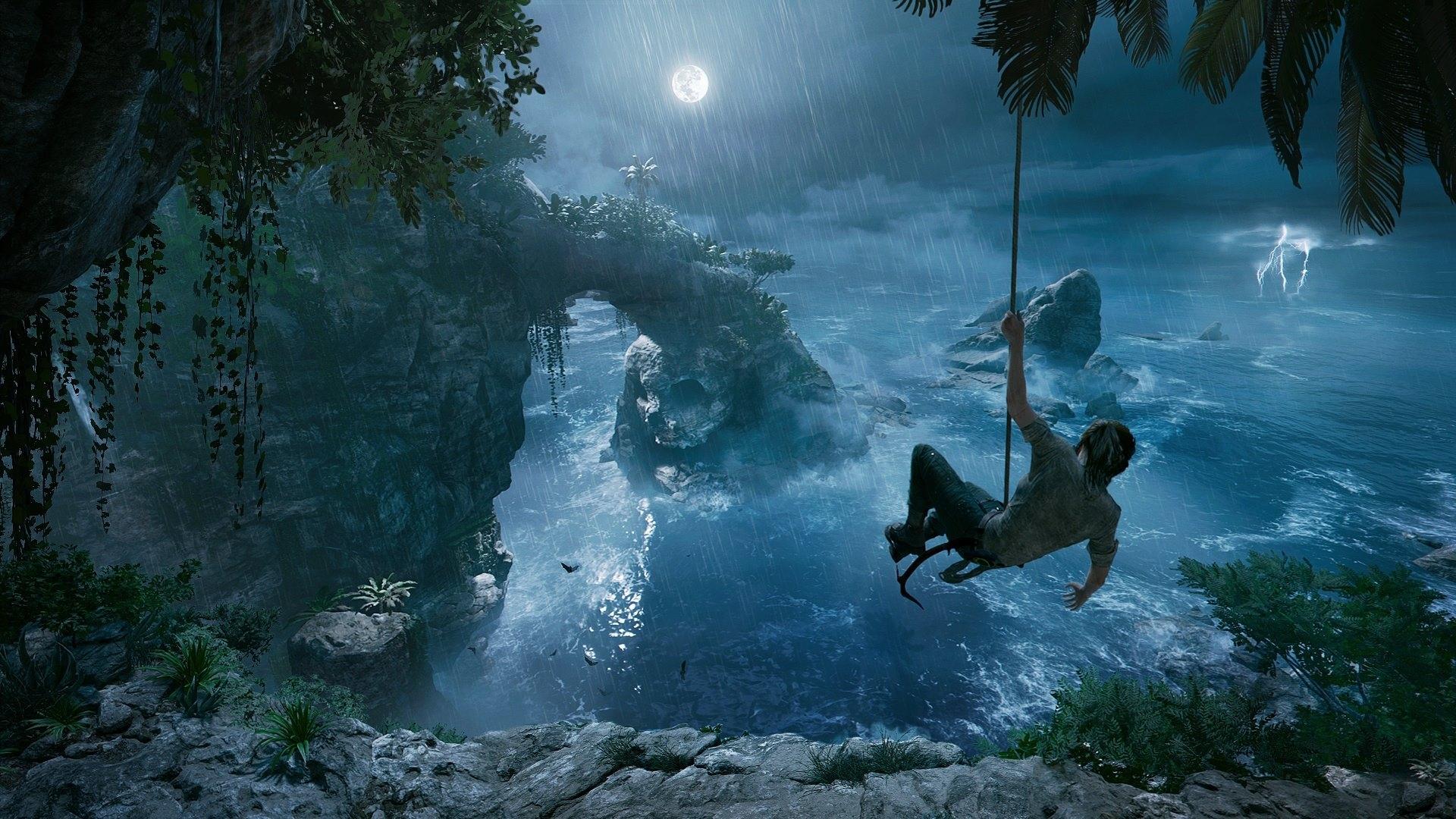 Первое видео геймплея Shadow of the Tomb Raider