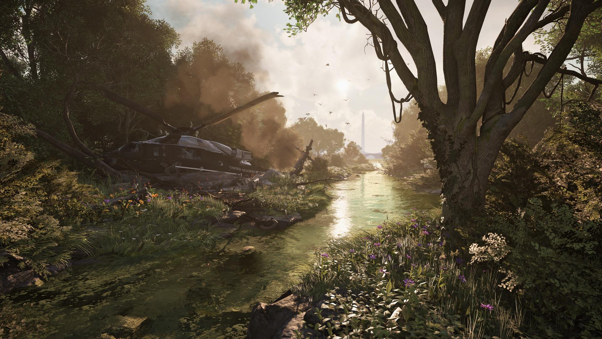 Ubisoft показала два трейлера The Division 2 — геймплейный и кинематографический