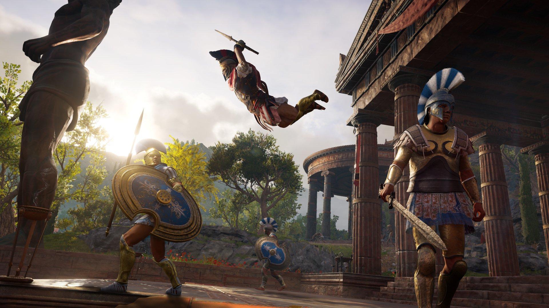 На Е3 2018 Ubisoft продемонстрировала геймплейный трейлер Assassin's Creed: Odyssey