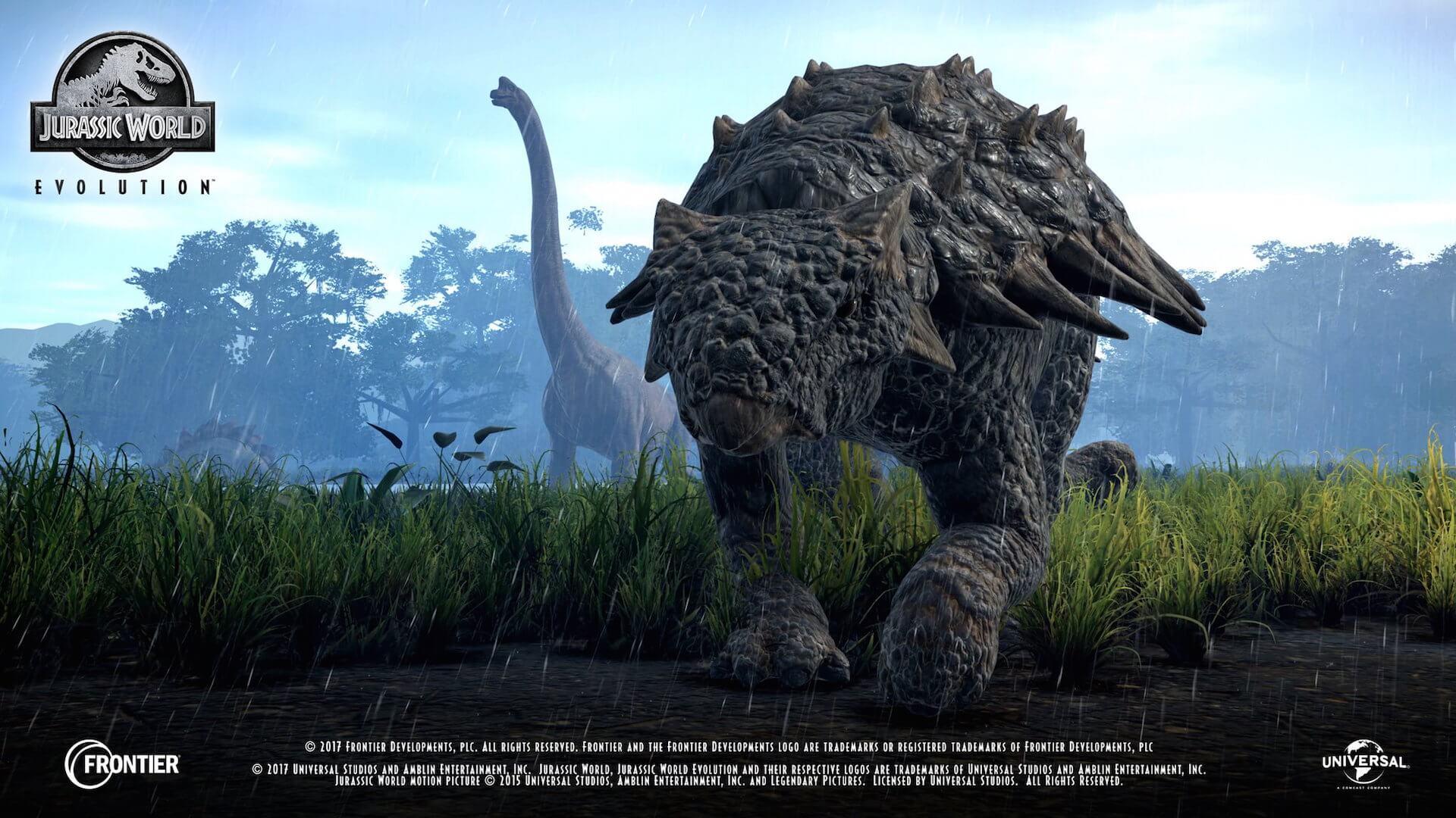 Jurassic World Evolution обзавелась релизным трейлером