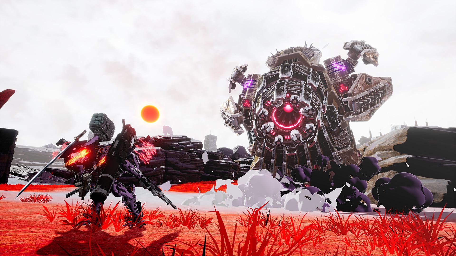 Для Nintendo Switch анонсирован экшен про роботов Daemon X Machina